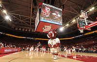 NWA Democrat-Gazette/ANDY SHUPE<br /> Arkansas' Emporia State's Friday, Nov. 4, 2016, during the first half of play in Bud Walton Arena in Fayetteville. Visit nwadg.com/photos to see more photographs from the game.