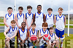 CBS NS attending the CBS Hoops Basketball bliz in the John Mitchels complex on Friday morning last.<br /> Kneeling l-r, Paddy McMahon, JJ Olajitan, Rory Clifford, Eoghan Bridshaw and Alex Clifford.<br /> Standing l-r, Cody O&rsquo;Shea, Liam Moroney, Christopher Boyle, JJ Kanya, Aaron Nolan and Colm Browne.
