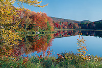 Mill Pond and Goves Mountain<br /> Pillsbury State Park<br /> New England<br /> Sullivan County,  New Hampshire