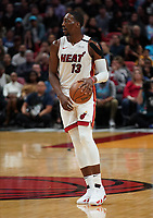 Bam Adebayo (C/F Miami Heat, #13) - 22.01.2020: Miami Heat vs. Washington Wizards, American Airlines Arena