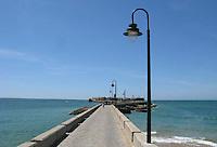 Pier at Cadiz in Spain