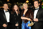 From left: Paul and Aryn Delisi with Andrea and Chris Dvorachek at the Gala on the Green benefitting the Discovery Green Conservancy Saturday Feb. 27,2010. (Dave Rossman Photo)