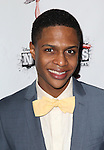 Ephraim Sykes.attending the 'NEWSIES' Opening Night after Party at the Nederlander Theatre in New York on 3/29/2012