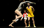 CONCOURS DANSE ELARGIE<br /> GERRO MINOS & HIM<br /> Choregraphie : MARCHAL Aloun, SALA REYNER Roger, TANGUY Simon<br /> Avec : MARCHAL Aloun, SALA REYNER Roger, TANGUY Simon<br /> Lieu : Theatre de la Ville<br /> Ville : Paris<br /> Le : 27 06 2010<br /> © Laurent PAILLIER / photosdedanse.com<br /> All rights reserved