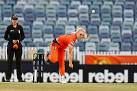 1st November 2019; Western Australia Cricket Association Ground, Perth, Western Australia, Australia; Womens Big Bash League Cricket, Perth Scorchers versus Melbourne Renegades; Samantha Betts of the Perth Scorchers bowls during her spell