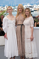 Elle Fanning, Nicole Kidman &amp; Kirsten Dunst at the photocall for &quot;The Beguiled&quot; at the 70th Festival de Cannes, Cannes, France. 24 May 2017<br /> Picture: Paul Smith/Featureflash/SilverHub 0208 004 5359 sales@silverhubmedia.com