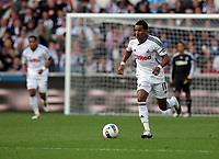 Pictured: Scott Sinclair. Saturday 17 September 2011<br /> Re: Premiership football Swansea City FC v West Bromwich Albion at the Liberty Stadium, south Wales.
