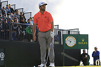 Jon Rahm (ESP) on the 13th tee during Thursday's Round 1 of the 148th Open Championship, Royal Portrush Golf Club, Portrush, County Antrim, Northern Ireland. 18/07/2019.<br /> Picture Eoin Clarke / Golffile.ie<br /> <br /> All photo usage must carry mandatory copyright credit (© Golffile | Eoin Clarke)