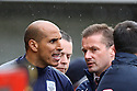 Preston coach Dino Maamria is sent off . - Stevenage v Preston North End - npower League 1 - Lamex Stadium, Stevenage - 9th April, 2012. © Kevin Coleman 2012