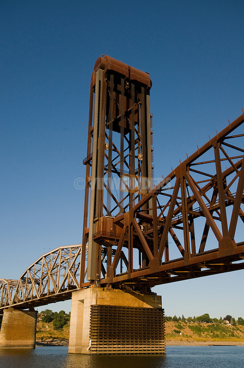 Burlington Northern Railroad Bridge 5.1 in Portland, Oregon