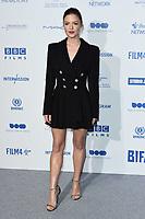 Holliday Grainger<br /> arriving for the British Independent Film Awards 2019 at Old Billingsgate, London.<br /> <br /> ©Ash Knotek  D3541 01/12/2019
