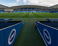 The Amex Stadium - Brighton<br /> <br /> Photographer David Horton/CameraSport<br /> <br /> The Premier League - Brighton and Hove Albion v Wolverhampton Wanderers - Saturday 27th October 2018 - The Amex Stadium - Brighton<br /> <br /> World Copyright &copy; 2018 CameraSport. All rights reserved. 43 Linden Ave. Countesthorpe. Leicester. England. LE8 5PG - Tel: +44 (0) 116 277 4147 - admin@camerasport.com - www.camerasport.com