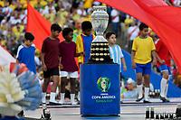 Rio de Janeiro (RJ), 07/07/2019 - Copa América / Final / Brasil x Peru -  Cerimônia de encerramento da Copa América, no Estádio Maracanã, neste domingo, 07. (Foto: Ricardo Botelho/Brazil Photo Press)