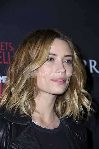 LOS ANGELES, CA - MAY 10: Arielle Vandenberg arrives at the '6 Bullets To Hell' Mobile Game Launch Party on May 10, 2016 in Los Angeles, California. Credit: Parisa/MediaPunch.