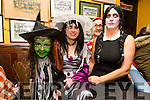 Pictured at the Halloween Festival in Knocknagoshel on Sunday night were Emily O'Keeffe. Eileen Long, Breda McGaley and Kitsy Fitzgerald