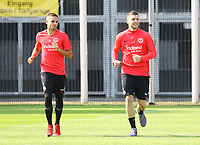 Mijat Gacinovic (Eintracht Frankfurt) und Ante Rebic (Eintracht Frankfurt) - 05.09.2018: Eintracht Frankfurt Training, Commerzbank Arena, DISCLAIMER: DFL regulations prohibit any use of photographs as image sequences and/or quasi-video.