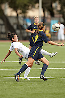 SAN ANTONIO, TX - SEPTEMBER 2, 2012: The Kent State University Golden Flashes versus the University of Texas at San Antonio Roadrunners Women's Soccer at the UTSA Recreational Sports Complex. (Photo by Jeff Huehn)