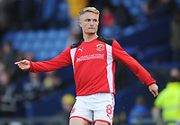 Fleetwood Town's Kyle Dempsey during the pre-match warm-up <br /> <br /> Photographer Kevin Barnes/CameraSport<br /> <br /> The EFL Sky Bet League One - Oxford United v Fleetwood Town - Tuesday 10th April 2018 - Kassam Stadium - Oxford<br /> <br /> World Copyright &copy; 2018 CameraSport. All rights reserved. 43 Linden Ave. Countesthorpe. Leicester. England. LE8 5PG - Tel: +44 (0) 116 277 4147 - admin@camerasport.com - www.camerasport.com