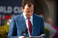 HALLANDALE BEACH, FL - JANUARY 27: Nick Luck on Pegasus World Cup Invitational Day at Gulfstream Park Race Track on January 27, 2018 in Hallandale Beach, Florida. (Photo by Carson Dennis/Eclipse Sportswire/Getty Images)