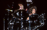 Terry Bozzio & Dale Bozzio of Missing Persons 1987