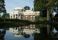 monticello Display image Only: Monticello-the historical home of Thomas Jefferson located in Charlottesville, Va. Photo/Andrew Shurtleff