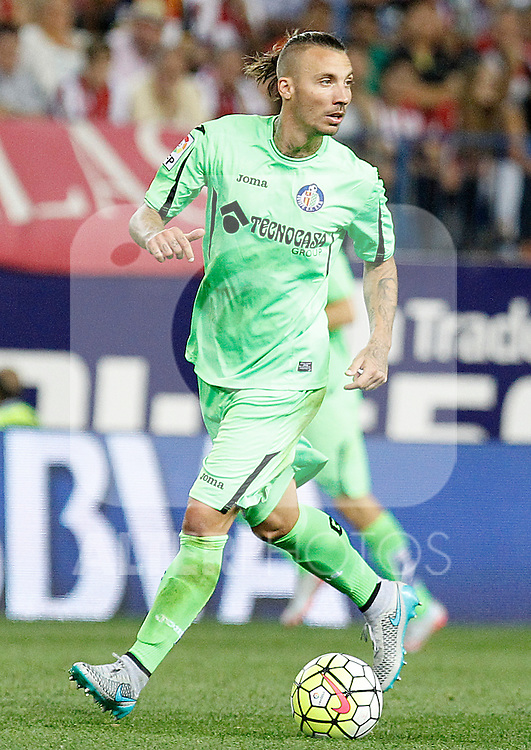 Getafe's Alexis Ruano during La Liga match.September 22,2015. (ALTERPHOTOS/Acero)