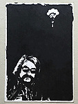 Kodalith Portrait of Felix Landau by Robert Landau circa 1971