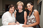 Leticia Lowe, Cyndy Garza and Lacey Dalcour-Salas at the Houston Area Women's Center 2011 Gala with Joan Rivers