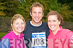 Pictured at the Feet First fun run in Killarney on Sunday were Jane, David and Olive Sharp.