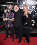 Bam Margera,Phil Margera and Aprill Margera at The Paramount Pictures' L.A. Premiere of Jack Ass 3-D held at The Grauman's Chinese Theatre in Hollywood, California on October 13,2010                                                                               © 2010 Hollywood Press Agency