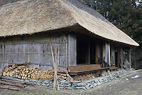 The roof of the cottage has been entirely re-thatched by its present owner, using only traditional methods