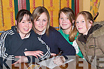 CHIARRAI: Writing the answers down on Thursday night at Gaelcholaiste Chiarrai Table Quiz at Stokers Lodge, Tralee, were Aisling McCarthy, Avril Fahy, Chloe Murphy and Alice O'Connor..