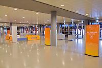 September 11, 2014, Netherlands, Amsterdam, Ziggo Dome, Davis Cup Netherlands-Croatia, entrance<br /> Photo: Tennisimages/Henk Koster