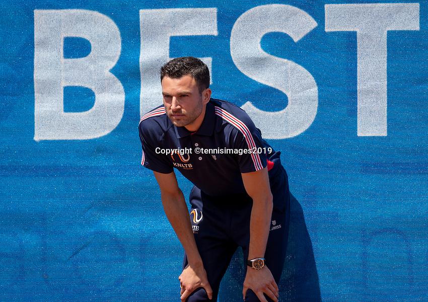 Zandvoort, Netherlands, 9 June, 2019, Tennis, Play-Offs Competition, Linesman<br /> Photo: Henk Koster/tennisimages.com