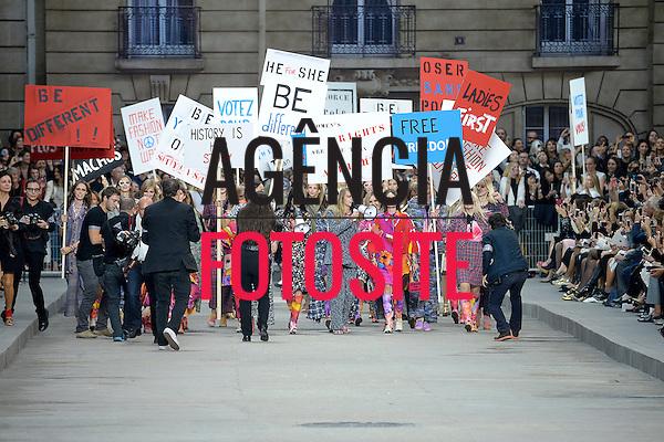 Paris, Fran&ccedil;a &sbquo;09/2014 - Desfile de Chanel durante a Semana de moda de Paris  -  Verao 2015. <br /> <br /> Foto: FOTOSITE