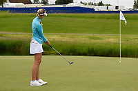 Jessica Korda (USA) barely misses her putt on 7 during the round 3 of the KPMG Women's PGA Championship, Hazeltine National, Chaska, Minnesota, USA. 6/22/2019.<br /> Picture: Golffile | Ken Murray<br /> <br /> <br /> All photo usage must carry mandatory copyright credit (© Golffile | Ken Murray)