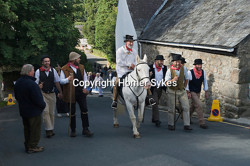 Widecomb Fair, Widecombe in the Moor, Dartmoor, Devon, Uk.  Uncle Tom Cobley and All.