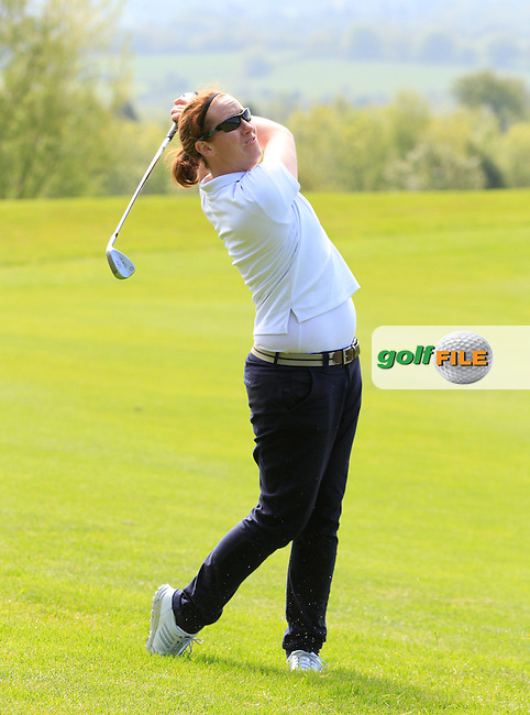 Emma Gilmore (Mountbellew) on the 6th fairway during Round 1 of the Irish Women's Open Strokeplay Championship at Dun Laoghaire Golf Club on Saturday 23rd May 2015.<br /> Picture:  TJ Caffrey / www.golffile.ie