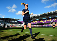 Orlando, FL - Saturday October 14, 2017:  Samantha Mewis during the NWSL Championship match between the North Carolina Courage and the Portland Thorns FC at Orlando City Stadium.