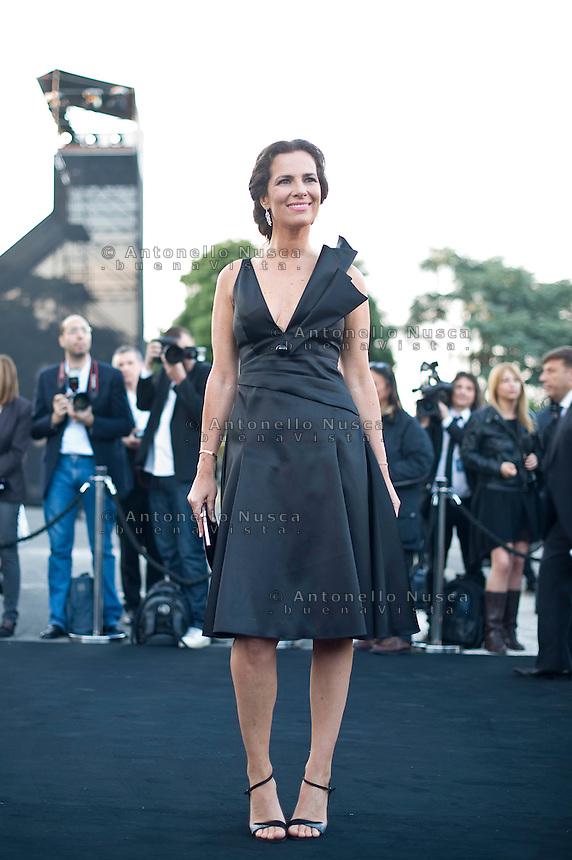 Roma, 5 Giugno, 2013. Roberta Armani al 'One Night Only' Roma organizzato da Giorgio Armani al Palazzo della Civilta Italiana.