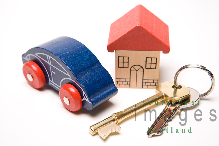 Mortgage the house keys to a new home or property