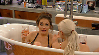 Jess Impiazzi, Ashley James<br /> Celebrity Big Brother 2018 - Day 8<br /> *Editorial Use Only*<br /> CAP/KFS<br /> Image supplied by Capital Pictures
