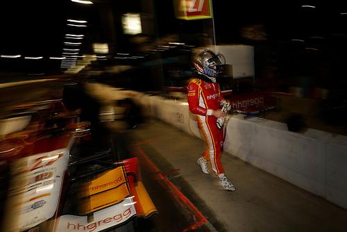 2017 IndyCar Media Day - Track Action<br /> Phoenix Raceway, Arizona, USA<br /> Saturday 11 February 2017<br /> Marco Andretti<br /> World Copyright: Michael L. Levitt/LAT Images<br /> ref: Digital Image _AT_4121