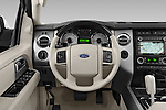 Car pictures of steering wheel view of a 2014 Ford Expedition Limited EL 5 Door SUV Steering Wheel