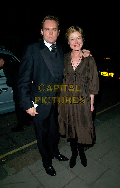 PHILLIP GLENISTER & GUEST.Attending The Celebrities Guild Unsung Heores Awards Presentation Gala & Evening, Claridge's Hotel, London, England, October 14th 2007..full length philip                                                                         .CAP/CAN.©Can Nguyen/Capital Pictures