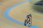 To Cheuk Hei of the SCAA competes in the Men Elite - Omnium II Tempo Race 10km category during the Hong Kong Track Cycling National Championships 2017 at the Hong Kong Velodrome on 18 March 2017 in Hong Kong, China. Photo by Chris Wong / Power Sport Images