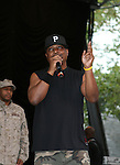 Chuck D of Public Enemy  Performs at Central Park Summer Stage: DJ Kool Herc, Blitz the Ambassador and Public Enemy, NY 8/17/10