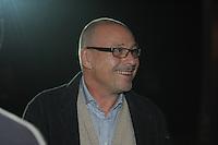 SCHAATSEN: ZAANDAM: 08-10-2013, Taets art Gallery, Perspresentatie Team Beslist.nl, chef de mission Maurits Hendriks, ©foto Martin de Jong