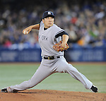 Masahiro Tanaka (Yankees),<br /> APRIL 4, 2014 - MLB :<br /> Masahiro Tanaka of the New York Yankees pitches during the baseball game against the Toronto Blue Jays at Rogers Centre in Toronto, Ontario, Canada. Tanaka made his major league debut in the 7-3 Yankees win. (Photo by AFLO)