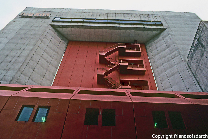 Tokyo: Big Box, 1972. Kisho Kurokawa. Photo '82.
